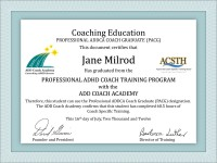 PACG Coaching Education Certificate